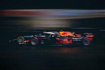 Max Verstappen Vs Lewis Hamilton - F1 Redbull Mercedes van Kevin Baarda