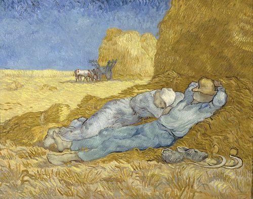 Vincent van Gogh. Rustende boeren van 1000 Schilderijen