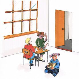 Klaslokaal von Sasha Butter-van Grootveld