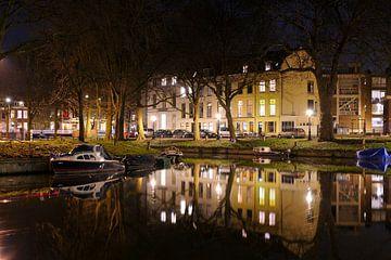 Weerdsingel in Utrecht ter hoogte van Begijnekade van