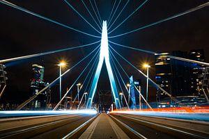 Erasmusbrug Rotterdam van Hanno de Vries