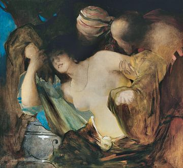 Susanna und die Ältesten - Franciszek Żmurko, 1879 von Atelier Liesjes