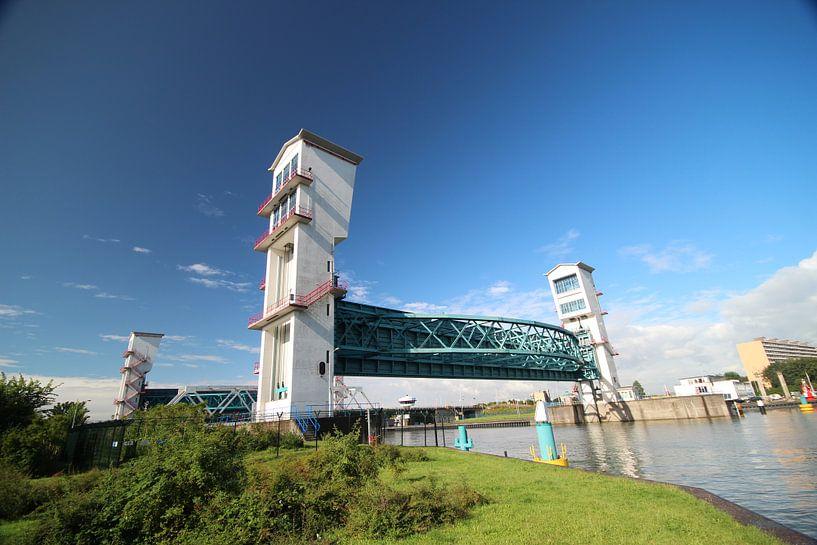 Hollandsche IJssel en Algerakering bij Krimpen aan den IJssel van André Muller