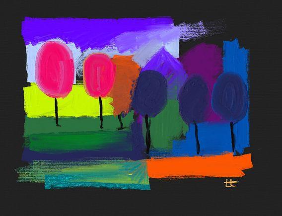 Bomen van Theo Tiedink
