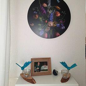 Klantfoto: Dutch Love van Sander Van Laar, als ronde print