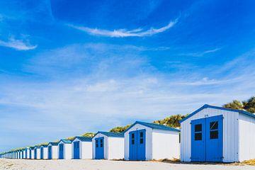Blue beach at Texel van Marcel  van de Gender