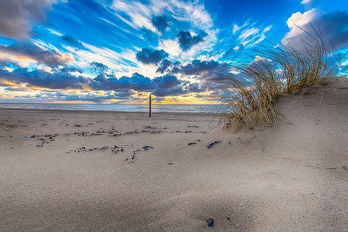 Sunset from the dunes van Alex Hiemstra