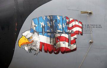 Bemalung einer Boeing KC-135 der US-Luftwaffe von Ramon Berk