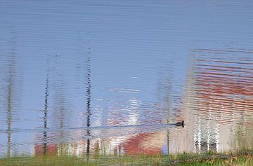 Häuser im Wasser?  von Ingrid Bargeman