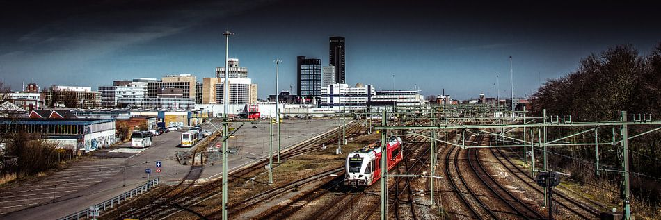 Treinstation Leeuwarden van Harrie Muis