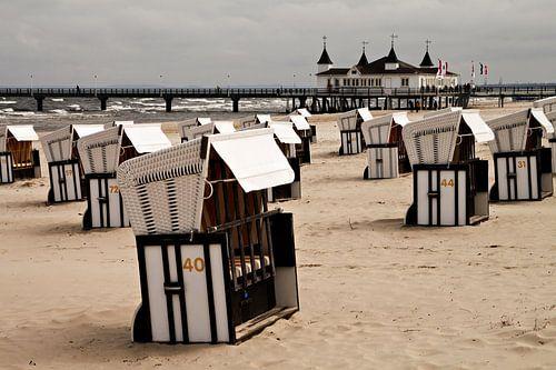 Ostseestrand in Ahlbeck. von Rico Ködder