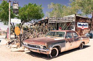 Chevrolet oude antieke auto van
