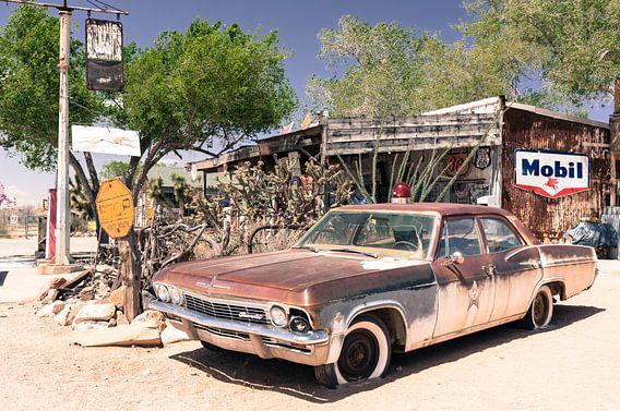 Chevrolet oude antieke auto van Inge van den Brande