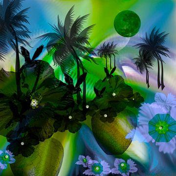 Bloemen en vogels van Raina Versluis