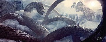 Schlangenpfad (Pfad der Schlange) von Rocky Schouten