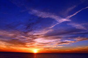 Gulfcoast Sunset von Christiane Schulze