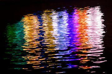 Kleuren in het water van Barbara Brolsma