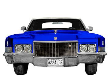 1970 Cadillac DeVille in blauw & wit van aRi F. Huber