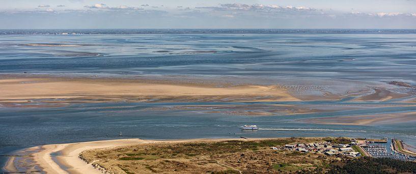 Noordoosthoek Vlieland van Roel Ovinge