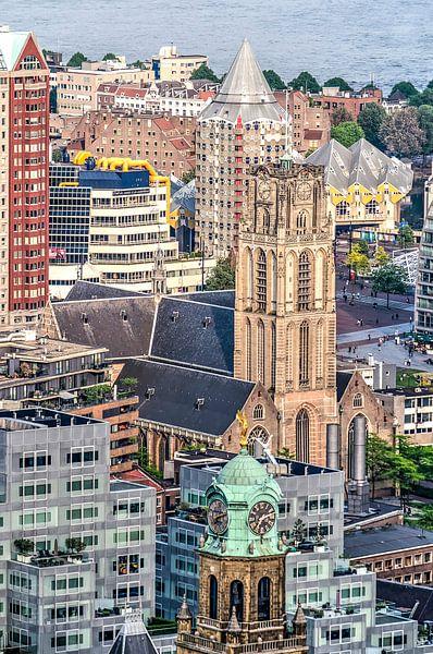 Rotterdam, collage van iconen van Frans Blok