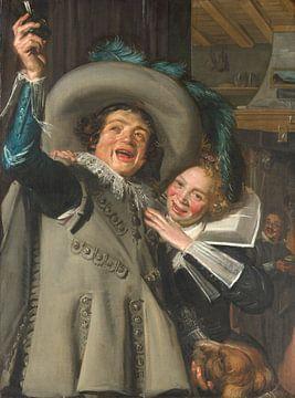 Junger Mann und Frau in einem Gasthaus, Frans Hals