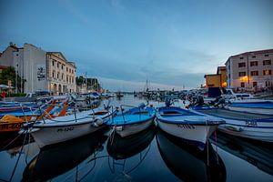 Vissersboten in de haven van Markus Weber