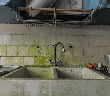 Wasbak groen van Emiel Koopman