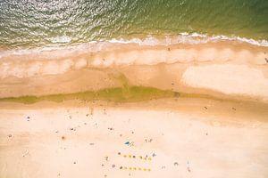 Strandleven vanuit de Lucht van