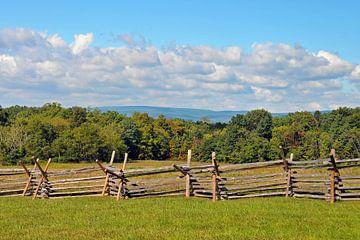 Gettysburg Barrikade von Paul van Baardwijk
