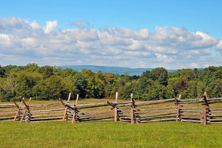 Gettysburg Barricade van Paul van Baardwijk