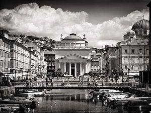 Photographie en noir et blanc : Trieste - Sant'Antonio Taumaturgo sur Alexander Voss