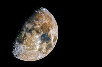 Full color moon  van Ben Bokeh