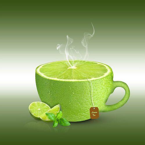 Limetten-Tee von