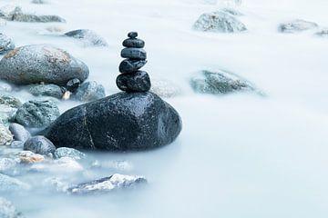 Zwarte stenen van