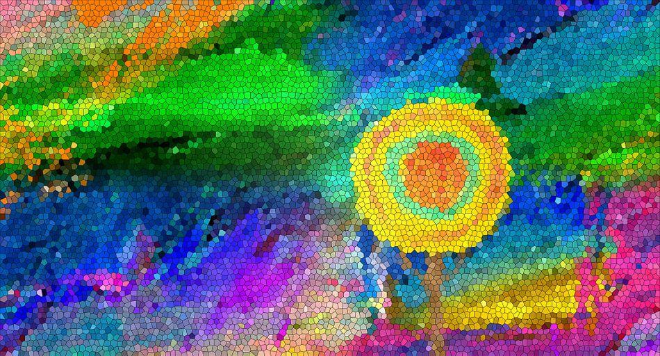 Sommerbaum-Mosaik