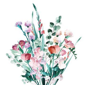 Spring Bouquet sur Goed Blauw