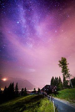 Rigi bei Nacht sur Severin Pomsel