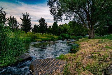foto van rivier met stenen in natuurgebied van Niels Aben