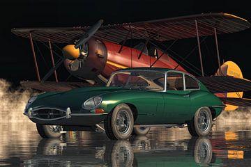 Jaguar E Type de legendarische sportauto uit 1960