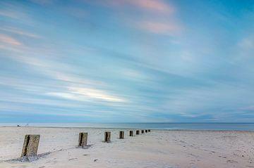 Het strand van Vlieland von Richard van der Zwan