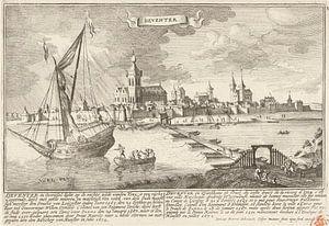 Blick auf Deventer, Gaspar Bouttats, nach Jan Peeters, 1679