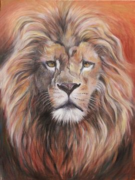 der König der Löwen...... König der Tiere..... von Els Fonteine