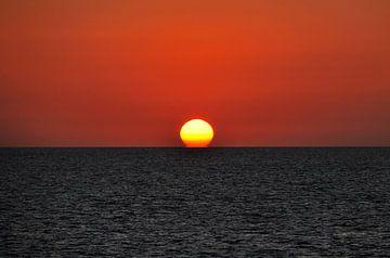 Een eenvoudige zonsondergang van Homemade Photos