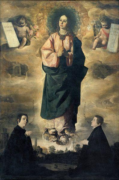 Unbefleckte Empfängnis, Francisco de Zurbarán von Meesterlijcke Meesters