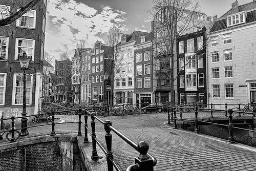 Kruising van de Rechtboom- en de Kromboomsloot in Amsterdam. van Don Fonzarelli