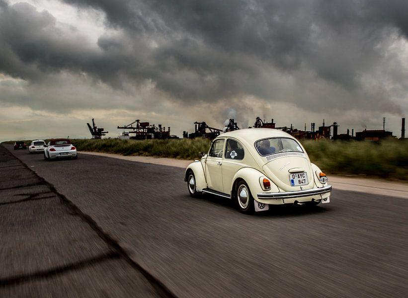 Beetle rolling van Jeroen van Alten