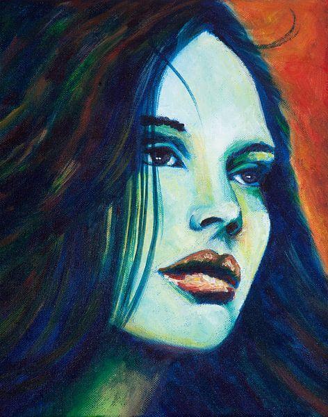 BlueMonday van Lucienne van Leijen