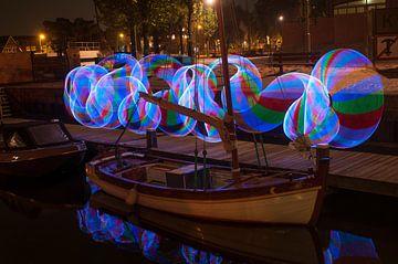 Lichtdans van Anders  Gefotografeerd