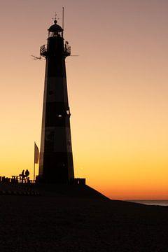 Silhoutte Leuchtturm von StephanvdLinde
