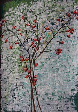 Hagebutten - Etwas wächst... von Susanne A. Pasquay